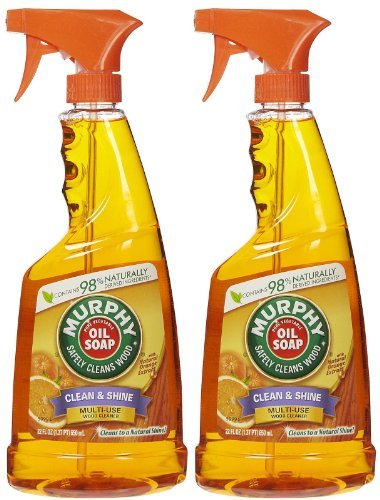 Trigger Spray Oil Orange Cleaner - Murphy Oil Multi-Use Wood Cleaner Spray with Orange Oil - 22 oz - 2 pk