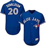 Josh Donaldson Toronto Blue Jays MLB Majestic Youth Blue Alternate Cool Base Replica Jersey