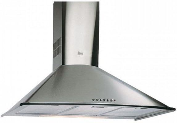 Teka - Campana decorativa pared dm675s inoxidable clase de eficiencia energetica a: Amazon.es: Grandes electrodomésticos