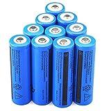 zenfone 6 quad - NEW 10PCS 3.7V 5000mAH Li-ion Rechargeable 18650 Battery For Flashlight Torch USA