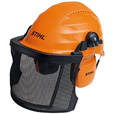 Stihl Aero Light Chainsaw Safety Protective Helmet/Visor Set 0000 884 0141 by Stihl Aero Light Chainsaw Helmet