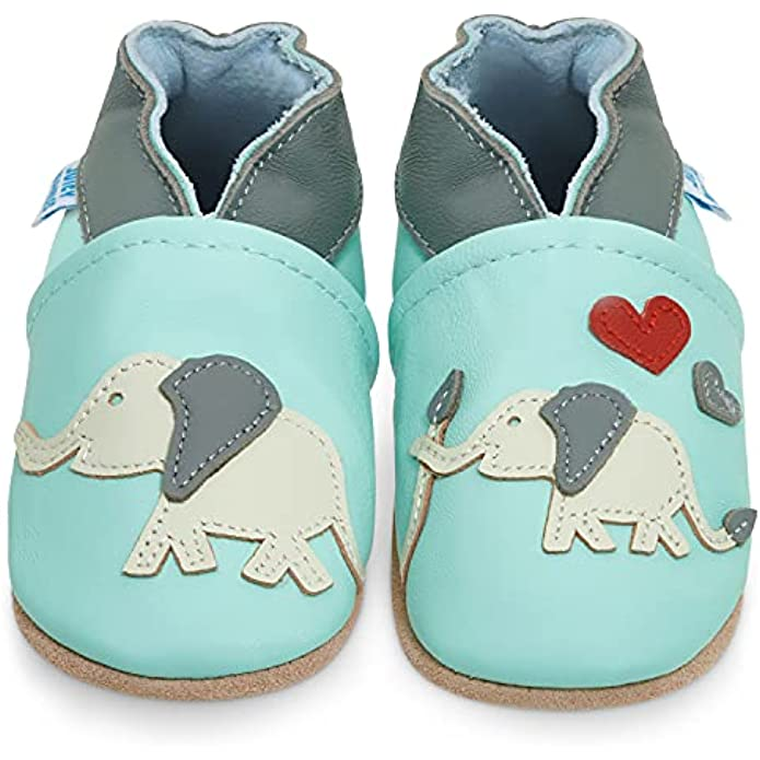 Soft Sole Leather Baby Shoes - Baby Boy Shoes - Baby Girl Shoes Moccasins