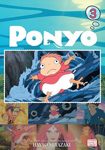 Ponyo Film Comic, Vol. 3 (PONYO ON THE CLIFF)