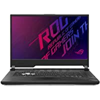 Asus ROG Strix G512LI-HN086T Gaming Laptop (Black) - Intel i7-10750H 2.6Ghz, 16 GB RAM, 1024GB SSD, Nvidia Geforce GTX1650Ti 4GB, 15.6 inches, 144Hz Refresh Rate, Windows 10, Eng-Arb-KB