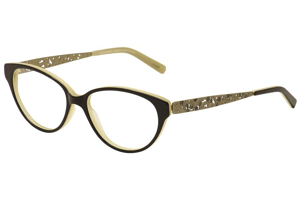 Amazon.com: Lafont Paris Eyeglasses Tentation 1040 Black/Beige ...