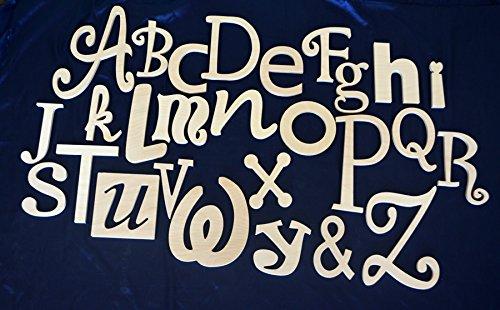 wood alphabet letters - 9