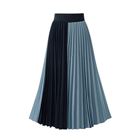 Havanadd-Clothing Faldas de Cintura Alta de Mujer Color de ...