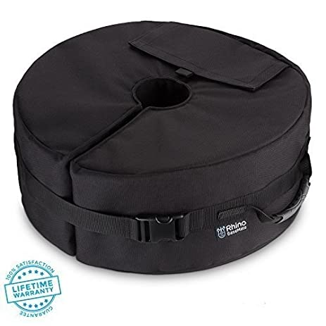 NEW   Patio Umbrella Base Weight Bag, 18u0026quot; Round With Large Opening For  Sand