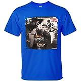 XTOTO Men's New Kids on the Block Hangin' Tough Cool T-shirts blue M