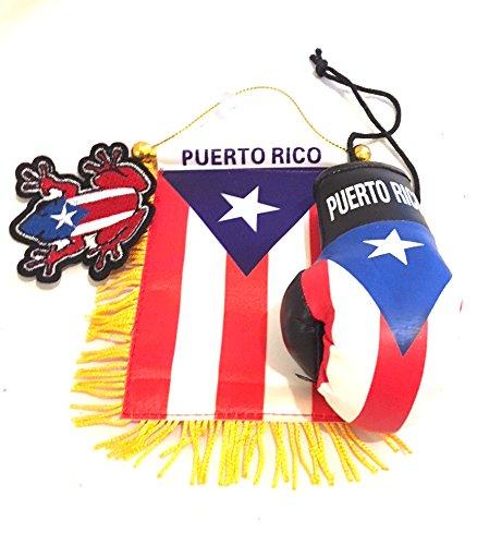 Puerto Rico Flags for Cars - Puerto Rico Flag Car