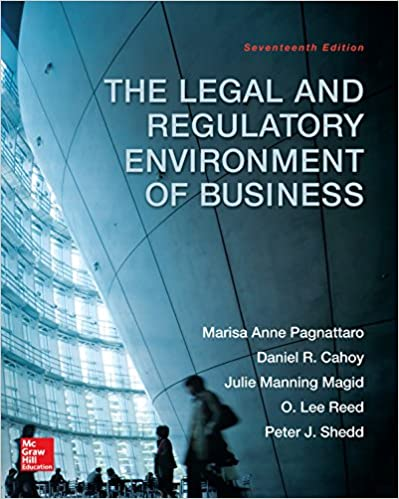 The legal and regulatory environment of business kindle edition by the legal and regulatory environment of business kindle edition by marisa anne pagnattaro daniel r cahoy julie manning magid o lee reed fandeluxe Gallery