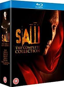 Saw - The Complete Collection [Edizione: Regno Unito] [Italia] [Blu-ray]