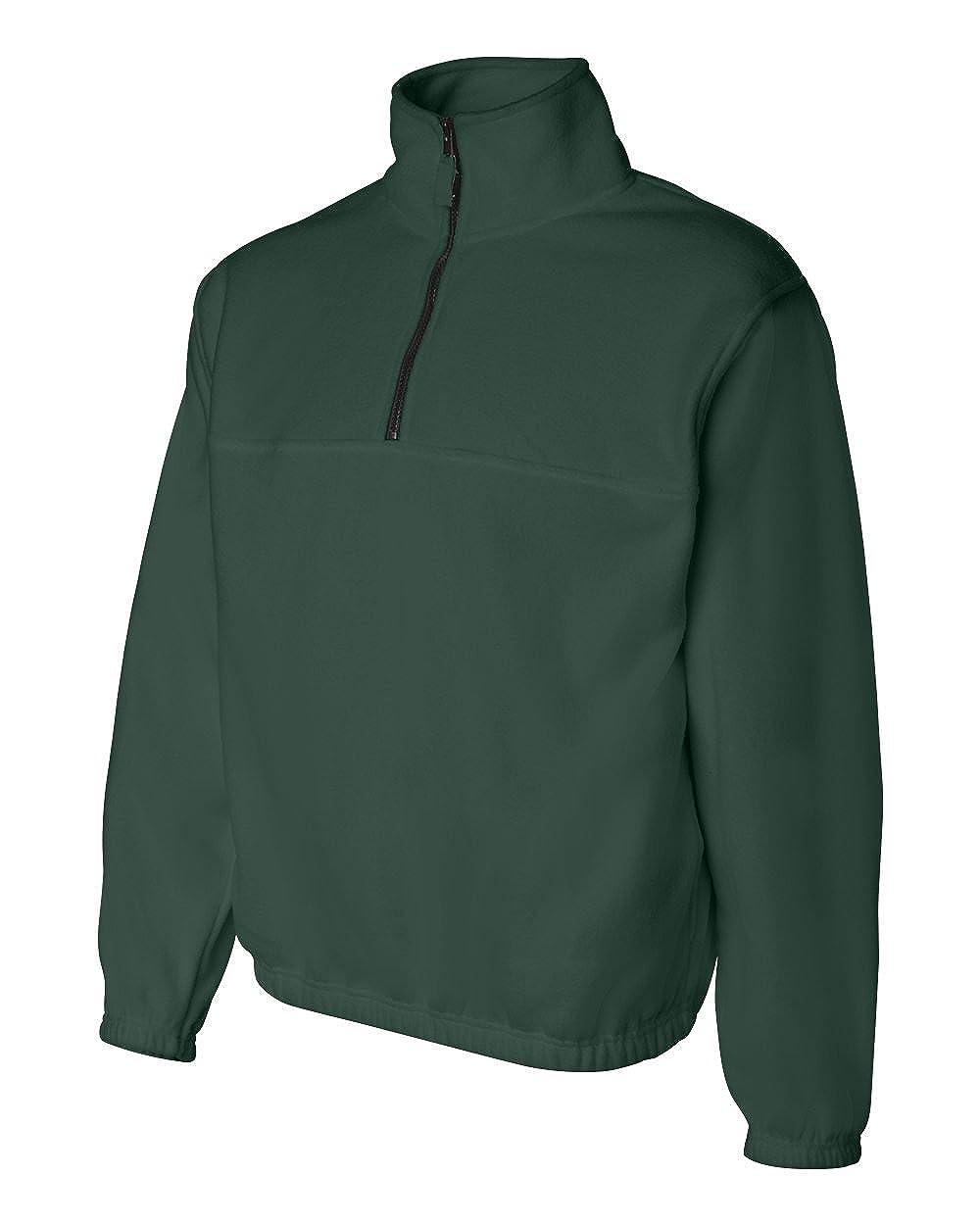 Sierra Pacific Adult Quarter Zip Poly Fleece Pullover