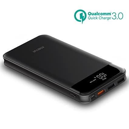 Amazon.com: 20000 mAh carga rápida Power Bank, meiyi QC 3.0 ...