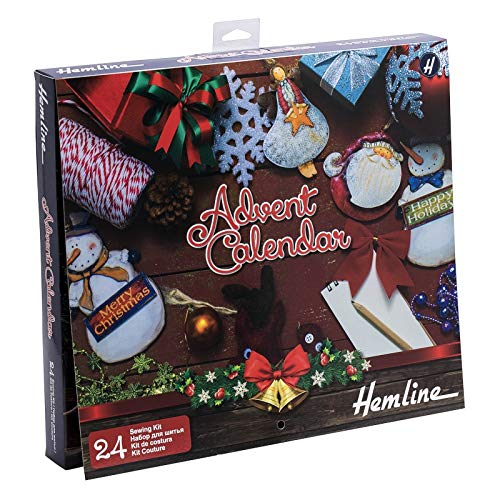 Hemline Crafters Sewing Advent Calendar Christmas Gift (Sewing Calendar Advent)