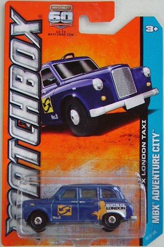 2013 Matchbox MBX Adventure City - Austin FX London Taxi