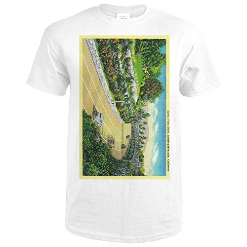 Buena Vista Drive, Entering Riverside (Premium White T-Shirt XX-Large) (Vista Drive Buena)