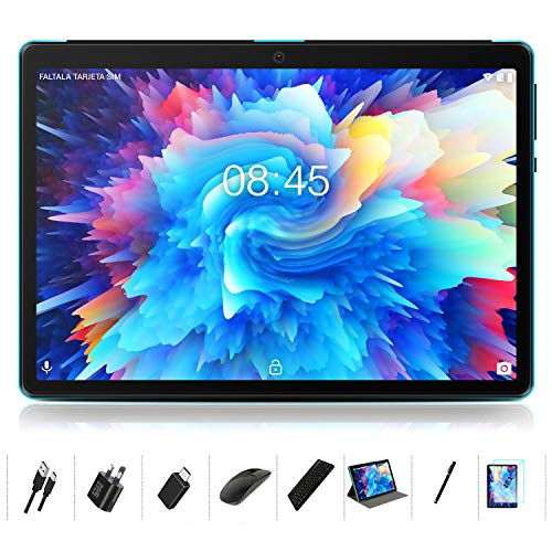 Tablet 10 Inch Android 10: MEBERRY Multi-accessories Octa-Core Processor 1.6GHz Tablet PC 4GB RAM+64GB ROM – Google GMS…