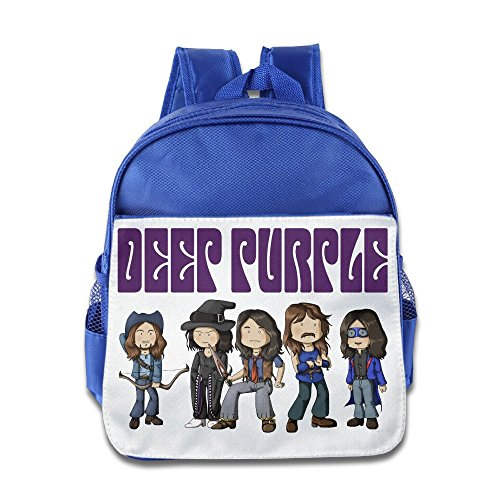 - XJBD Custom Funny Purple Cartoon Member Boys And Girls Shoulders Bag For 1-6 Years Old RoyalBlue