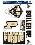 NCAA Purdue University Boilermakers 11'' x 17'' Jumbo Ultra Decal Set