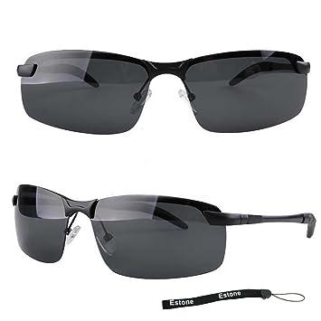Herren Retro Polarisierend Metallrahmen Sonnenbrille Sport Außen Brillen Brillen M9SbQmHdx