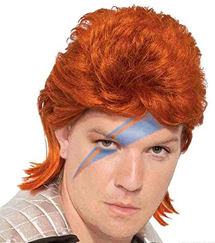 Forum Novelties 80s Orange Bowie Rock Star (70's Rock Stars Costumes)