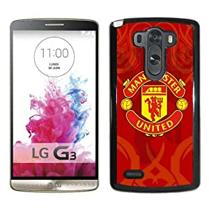 Fashionabe LG G3 Case ,Popular And Unique Designed Case With Manchester United 6 Black LG G3 Cover Phone Case