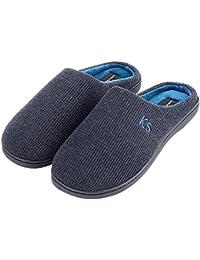 Mens Indoor Outdoor Cozy Clog Slippers