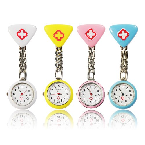 Metro Shop 4PCS Hospital Mark Clip Chain Doctor Nurse Pocket Watch (1*377 - Shop Nice One