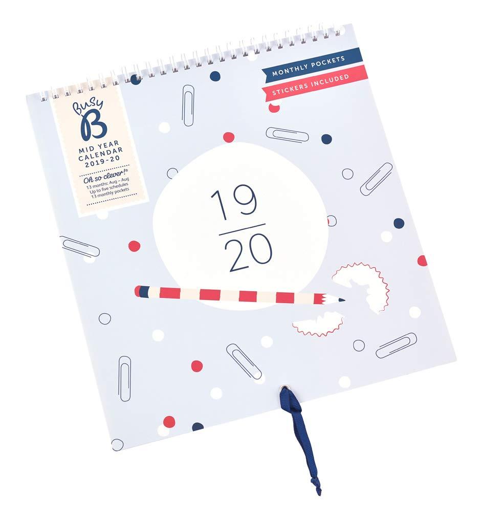 Busy B Family Calendar 2020 Stripe