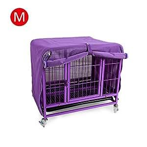 Somedays Cubierta para caseta de perro, cubierta de hierro para jaula de mascota, transpirable, malla mosquitera: Amazon.es: Productos para mascotas