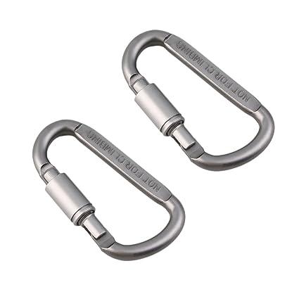 Amazon.com: Freedi 2 piezas/juego de mosquetón de aluminio ...