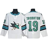 Gmjay Thornton # 19 Hockey Jersey San Jose