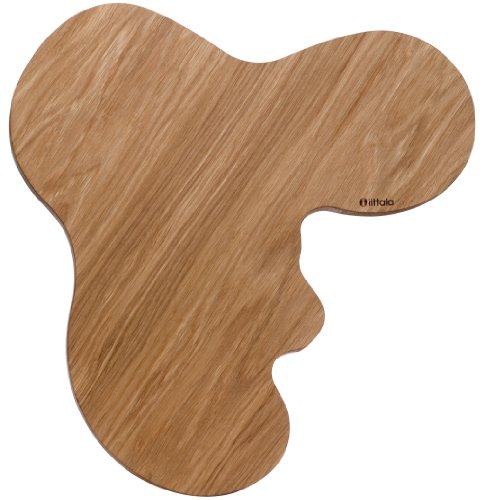Iittala Aalto Serving Platter, Oak, 17 x 14-Inches ()