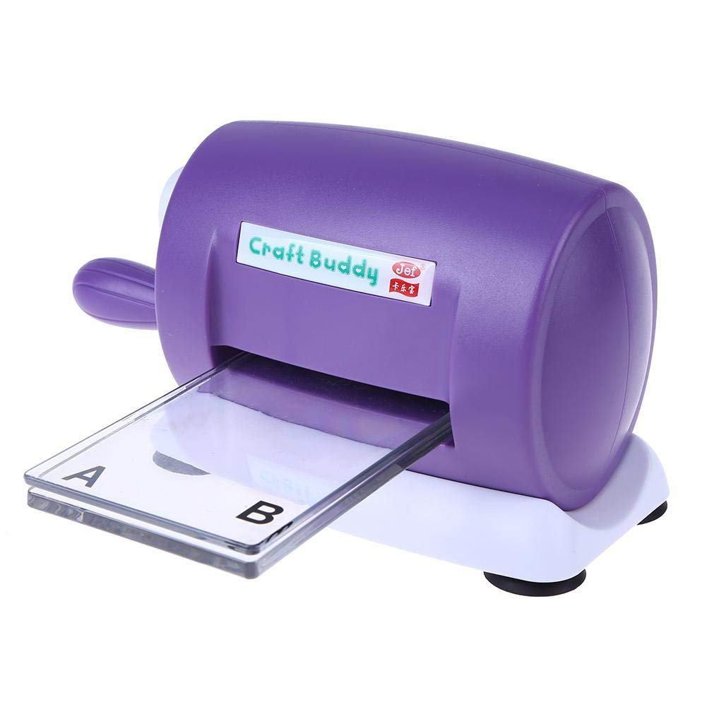 Occitop Troqueles M/áquina de troquelado de papel para manualidades herramienta de tarjeta recortes