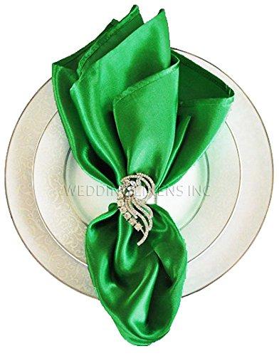 - Wedding Linens Inc.. 10 pcs Satin 20