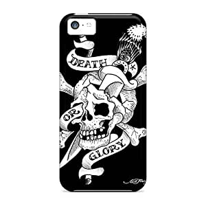 ByI1857TtCA Case Cover Protector For Iphone 5c Ed Hardy Case