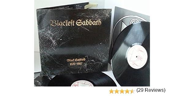 BLACK SABBATH blackest sabbath: black sabbath 1970 - 1987, double ...