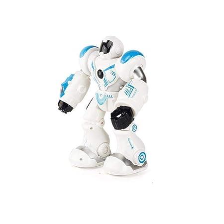 QTDS Bambini RC Intelligente Robot LED Gesto induzione Danza