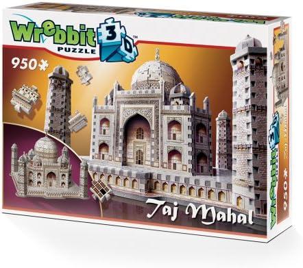 Wrebbit 3D W3D-2001 - Taj Mahal - 3D-puzzel