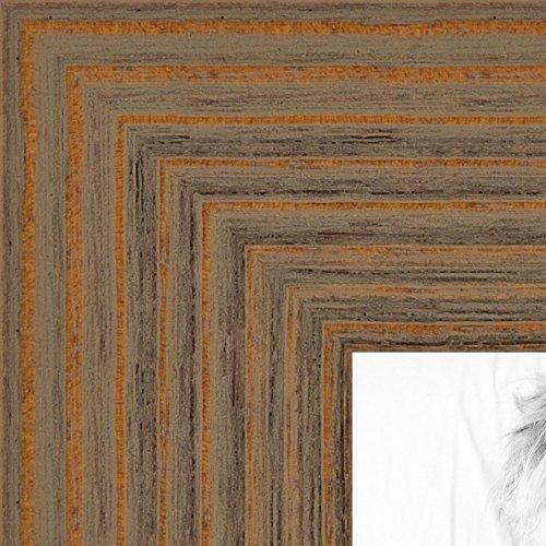 ArtToFrames 11x17 inch Maple Grain Distressed Frame Wood Pic