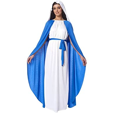 Franco American Novelty Disfraz de Virgen María Religiosa para ...