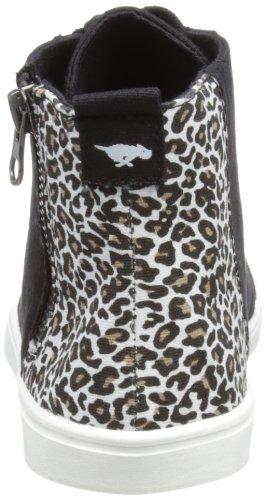Dog Noir canvas Dean Rocket Sparkling Mode Femme Baskets Black Jungle HBSnqWdxq