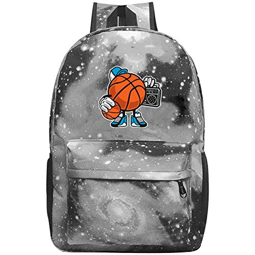 (Street Basketball Jam Galaxy Universe Space Galaxy School Backpack Schoolbag A Large Capacity of 20-35 L Bag)