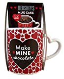 Hershey's Valentine's Day Ceramic Mug Chocolate Cake Mix Gift Set, 2.5 oz