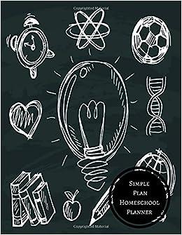 simple plan homeschool planner homeschool log journals for all