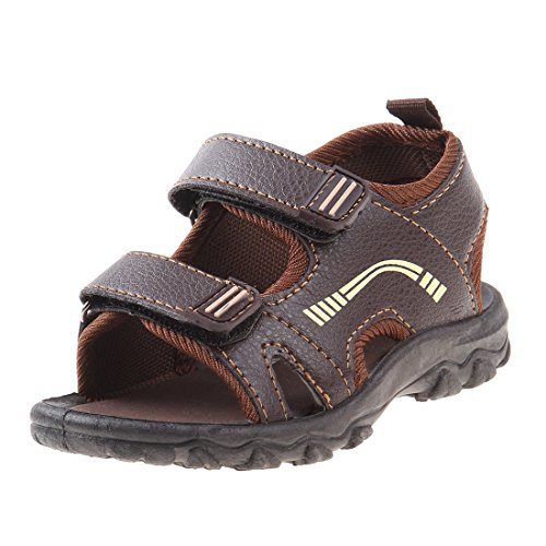Josmo Boys Outdoor Summer Sandal (Toddler, Little Kid, Big Kid), Brown, 10 M US Toddler' by Josmo