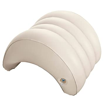 Relativ Intex Whirlpoolzubehör Aufblasbare Kopfstütze für Pure SPA, beige  UP96