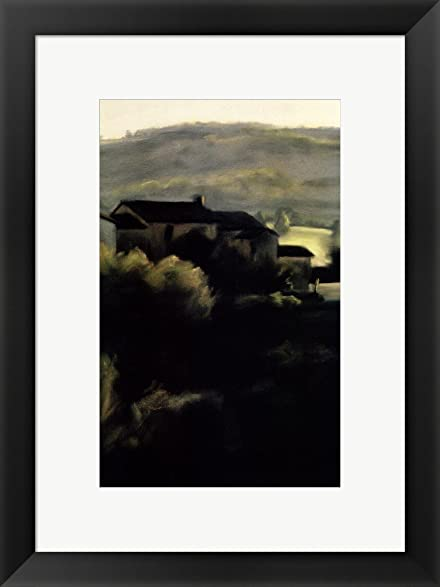 Amazon.com: Dawn, San Ambrogio by Mallory Lake Framed Art Print Wall ...