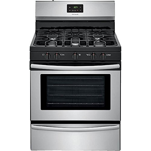 Frigidaire FFGF3052TS 30 Inch Gas Freestanding Range with 5 Sealed Burner Cooktop, 4.2 cu. ft. Primary Oven Capacity, in Stainless Steel ()